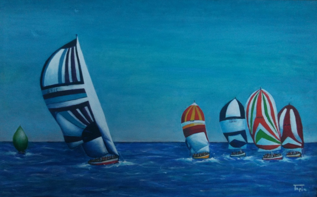 carreraen la mar_AutorAntonioTapia
